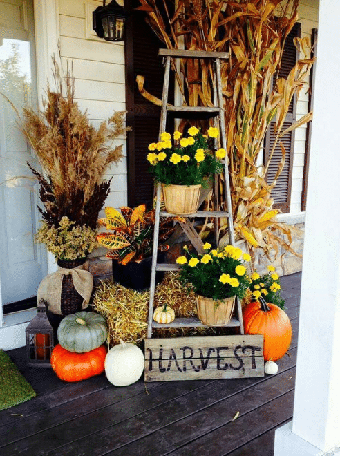 Fall Front Door Decor Ideas 12