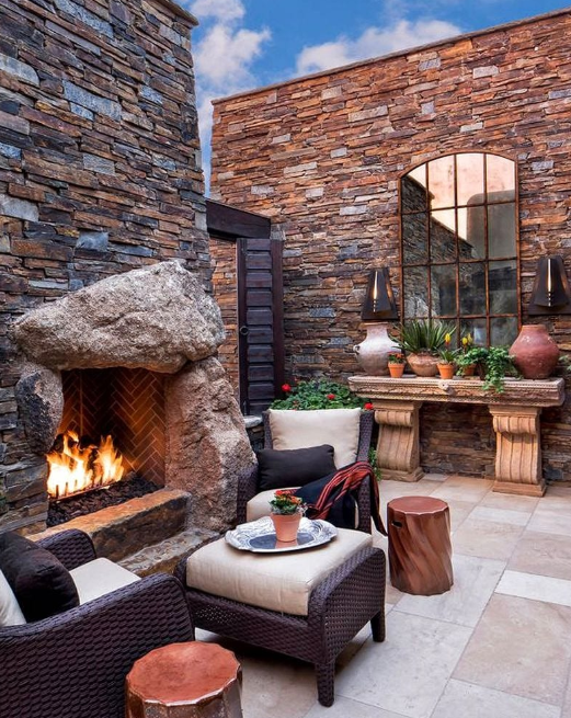 Boulder Capstone - privacy wall ideas