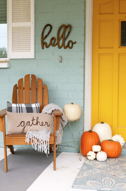 Fall Front Door Decor Ideas 10