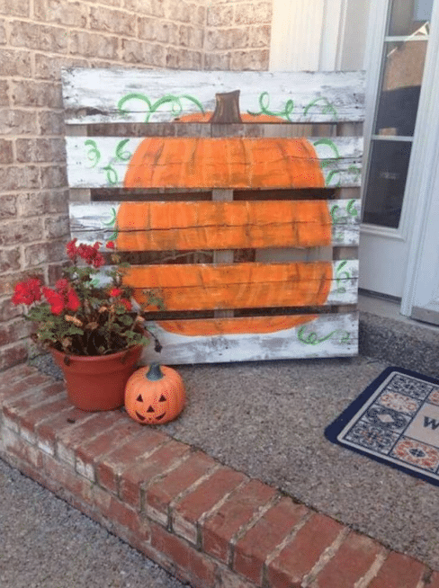 Fall Front Door Decor Ideas 6