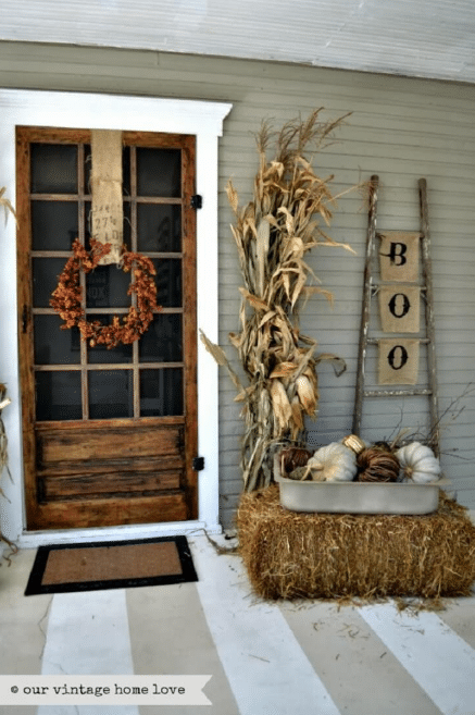 Fall Front Door Decor Ideas 9