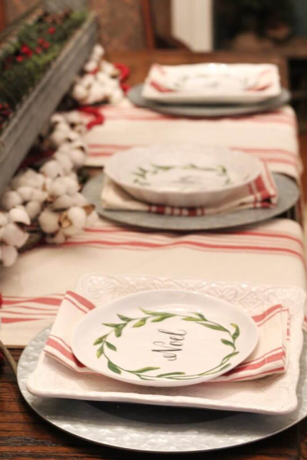 Bring out the Christmas Plates