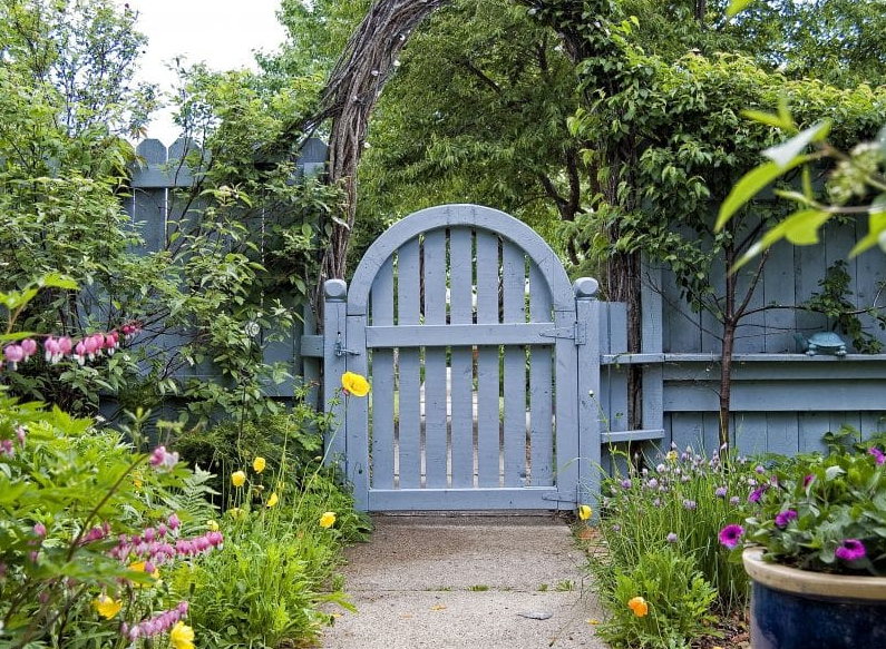 flower garden gate ideas - Vine Arbor
