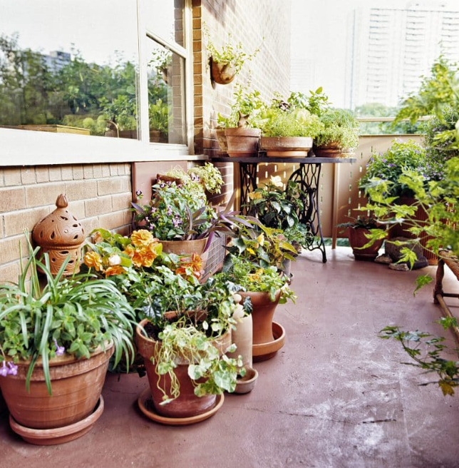 garden design ideas - Balcony Garden