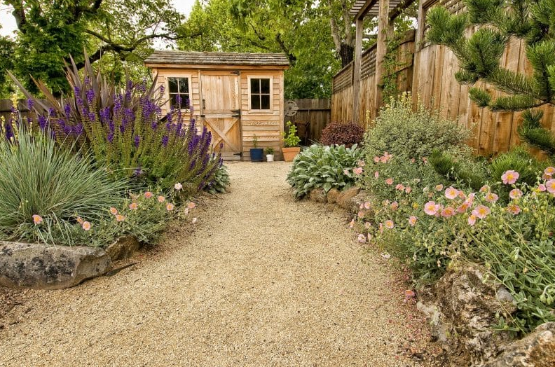garden design ideas - Rustic Garden