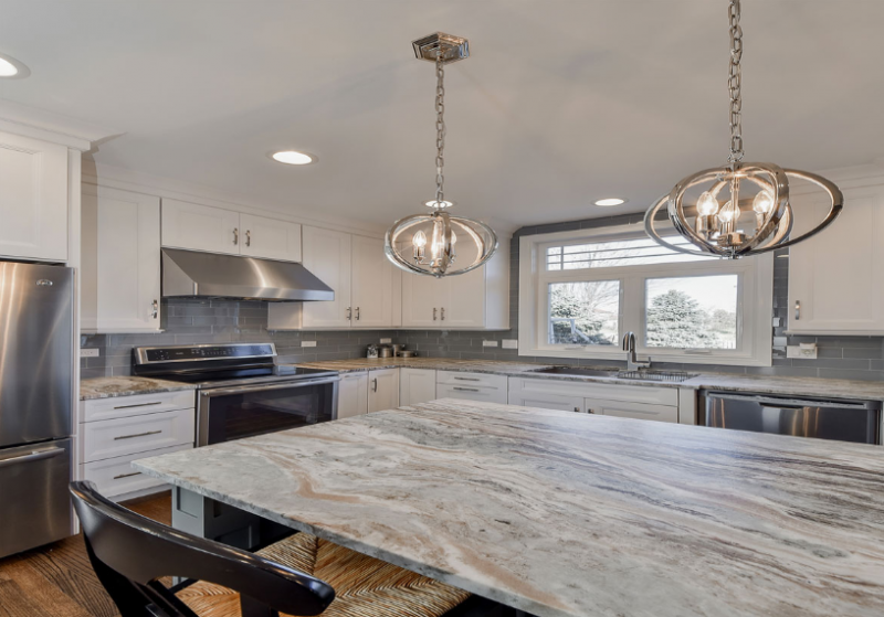 Kitchen Countertops - Honed vs. Polished