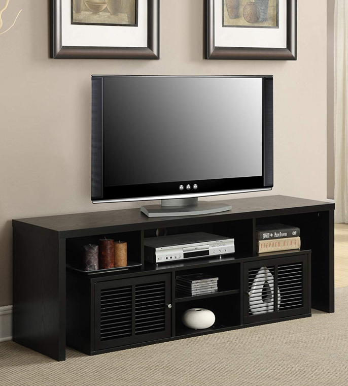 Wooden Tv Stands - Convenience Concepts Designs2Go Modern Lexington 60-Inch TV Stand