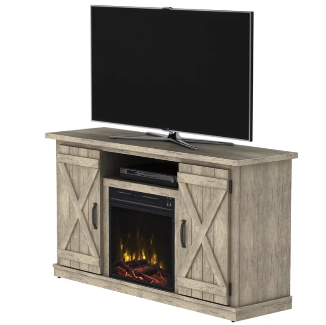 corner tv stand for 55 inch tv with fireplace
