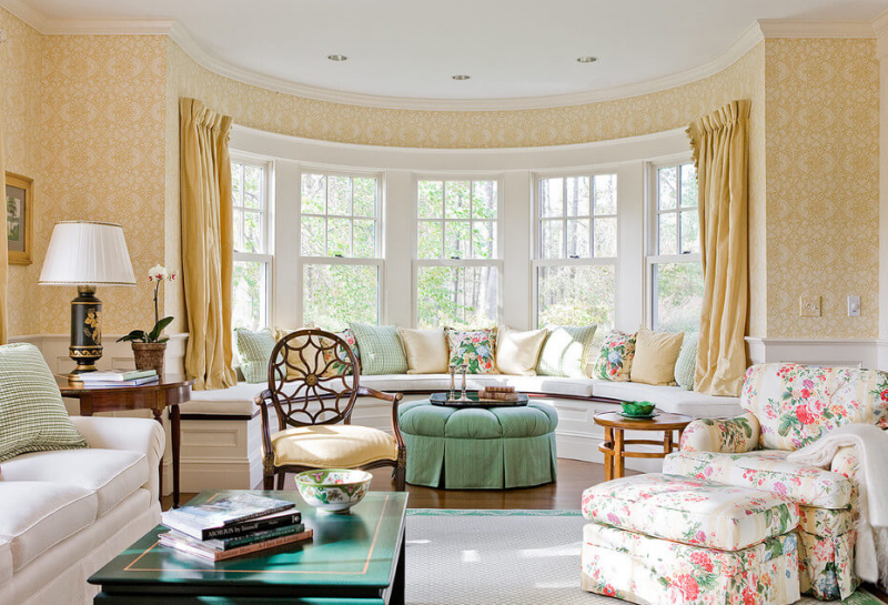 Bay Window Hamilburg Interiors