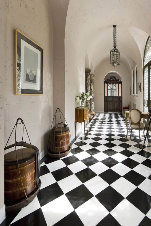 CHECKERBOARD - Hallway Ideas