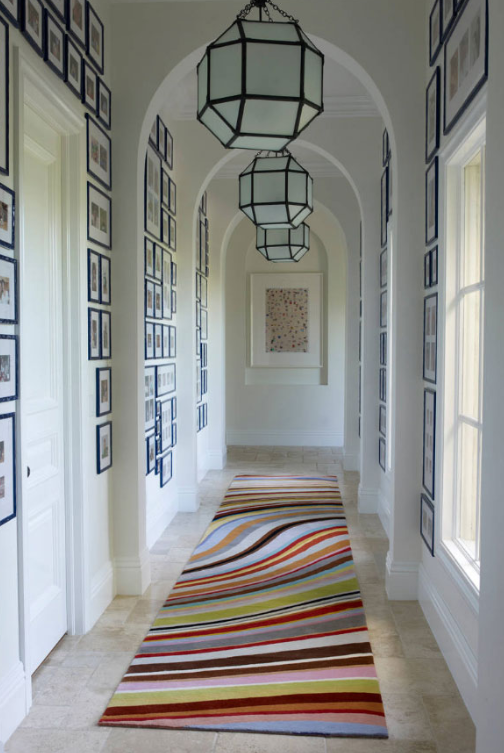 COLORFUL LATTICE - Hallway Ideas