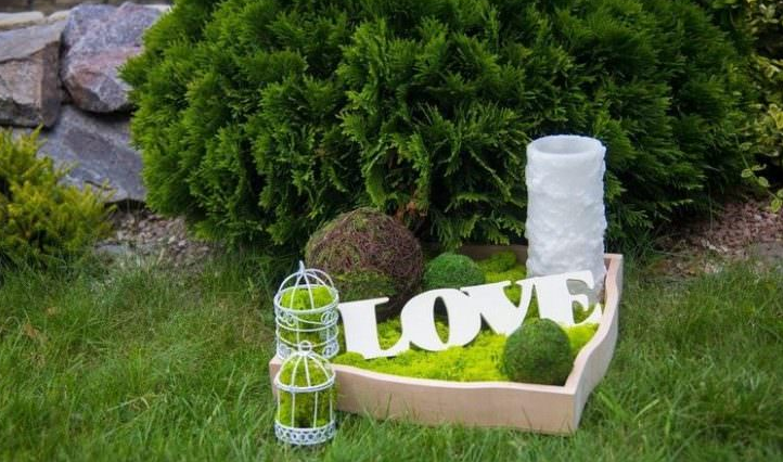 Outdoor Moss Decorative Ideas 26