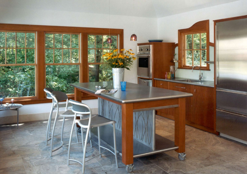 POOL HOUSE Kitchen Island