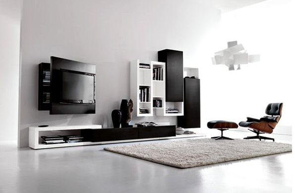 Perfectly Aligned Living Room