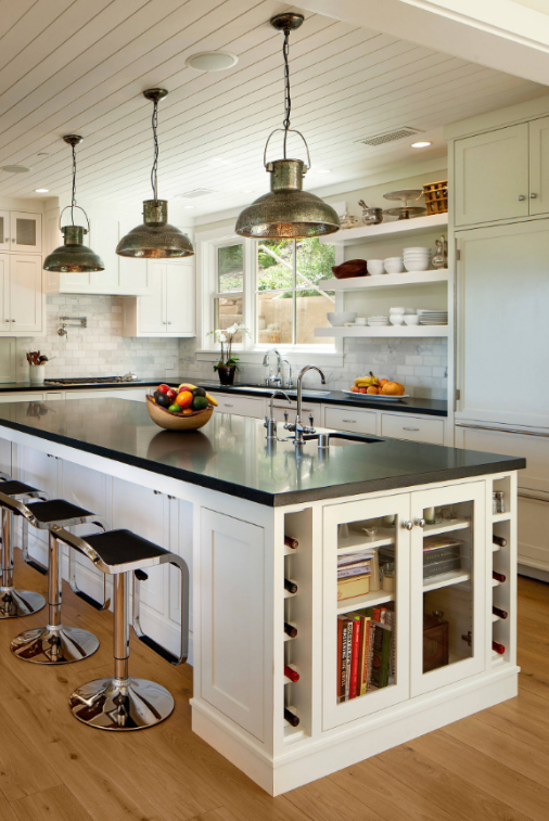 TRADITIONALLY INDUSTRIAL Kitchen Island
